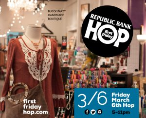 March 6: Republic Bank First Friday Hop image