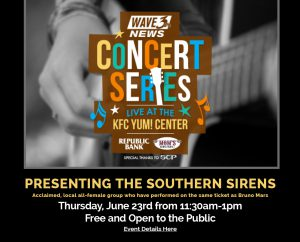 June 23: Yum! Center WAVE3 Lunch Concert image