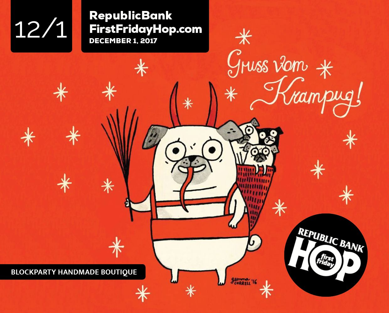 December 1 – Republic Bank First Friday Hop image