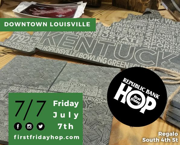 July 7 - Republic Bank First Friday Hop image