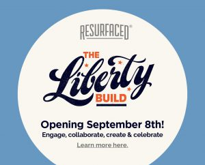 September 8: Resurfaced®: The Liberty Build Fall 2016 image