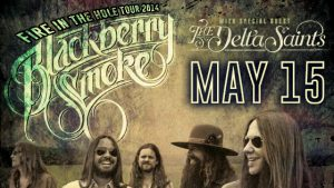 May 15: Blackberry Smoke: Fire in the Hole Tour image