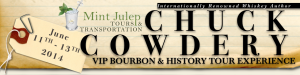 June 11-13: Chuck Cowdery VIP Bourbon & History Tour Experience image