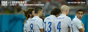 June 26: USA vs Germany World Cup Match image