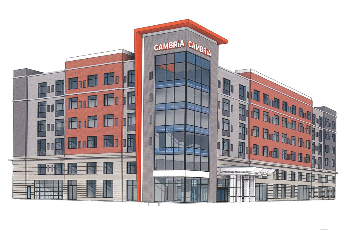 Cambria Hotel Suites Development Activity Louisville Downtown Partnership