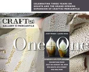 July 18: Craft(s) Gallery & Mercantile Presents One + One image