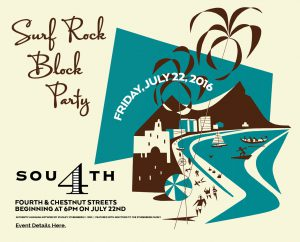 July 22: Surf Rock Block Party image