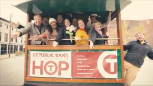 Republic Bank First Friday Trolley Hop Sponsorship Info image