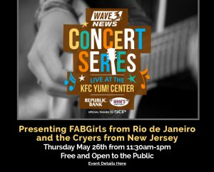 May 26: Wave 3 Concert Series image
