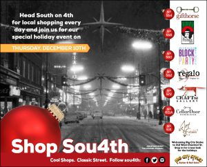December 10th: Sou4th Holiday Shopping Event image