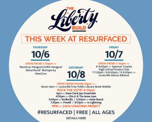 October 7: RESURFACED® THE LIBERTY BUILD - Fall 2016 Events image