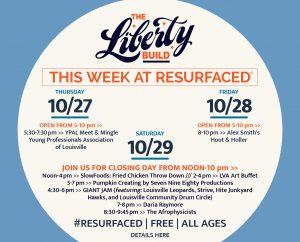 October 27 - RESURFACED®: THE LIBERTY BUILD FALL EVENTS image