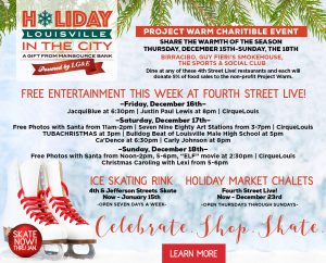 December 16 - Holiday in the City Events image