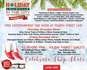 December 22 – Holiday in the City Events image