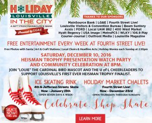 December 8 - Holiday in the City Events image