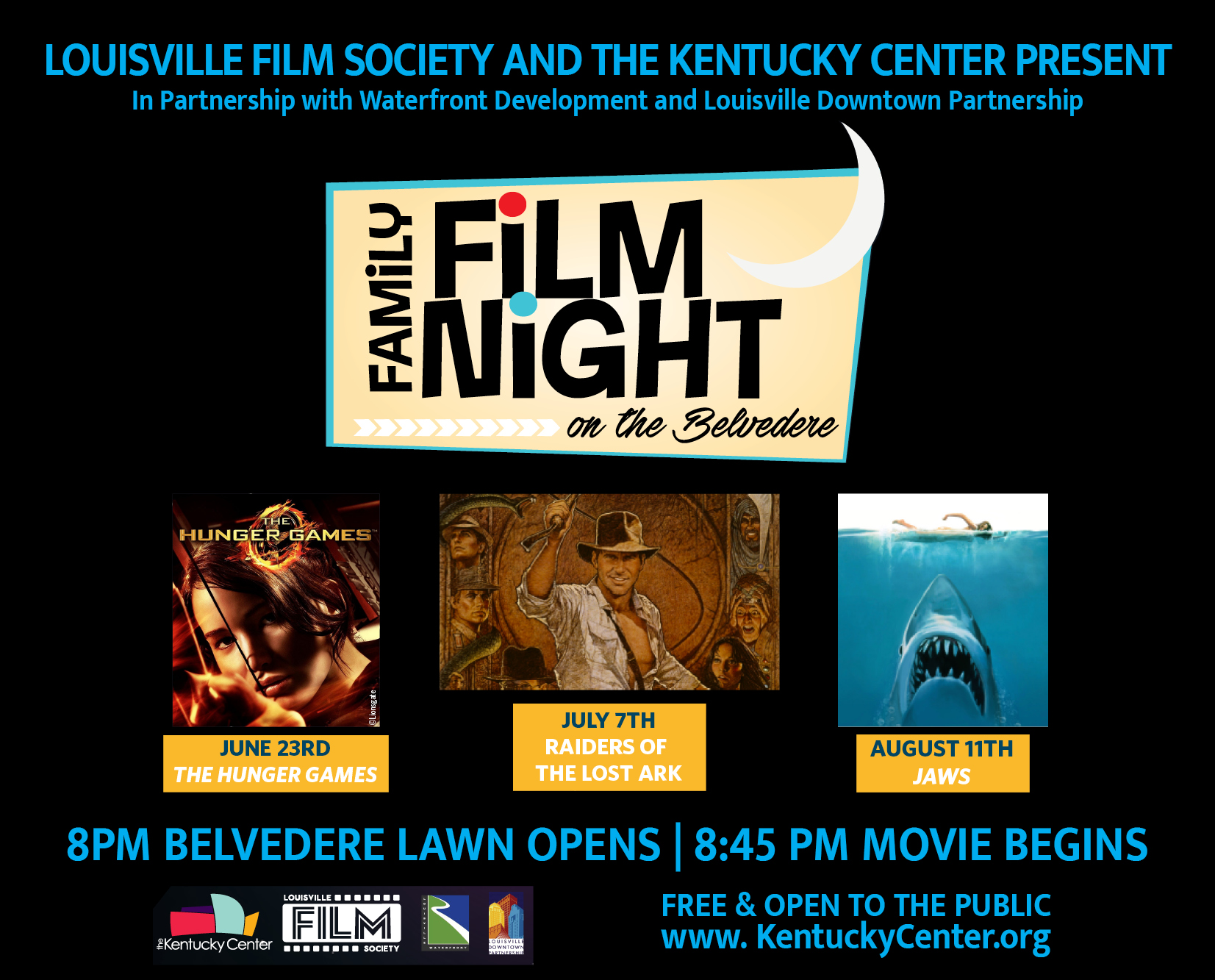 June, July, & August - Family Film Night on the Belvedere image