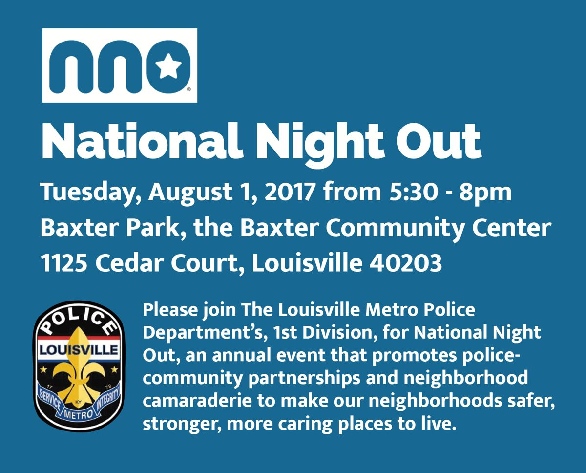 August 1 - National Night Out image