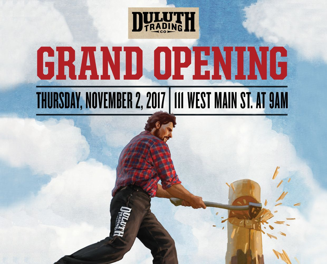 November 2 - Duluth Trading Co. Grand Opening image