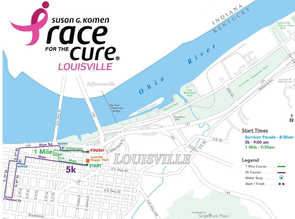 Susan G Komen Race For The Cure Louisville