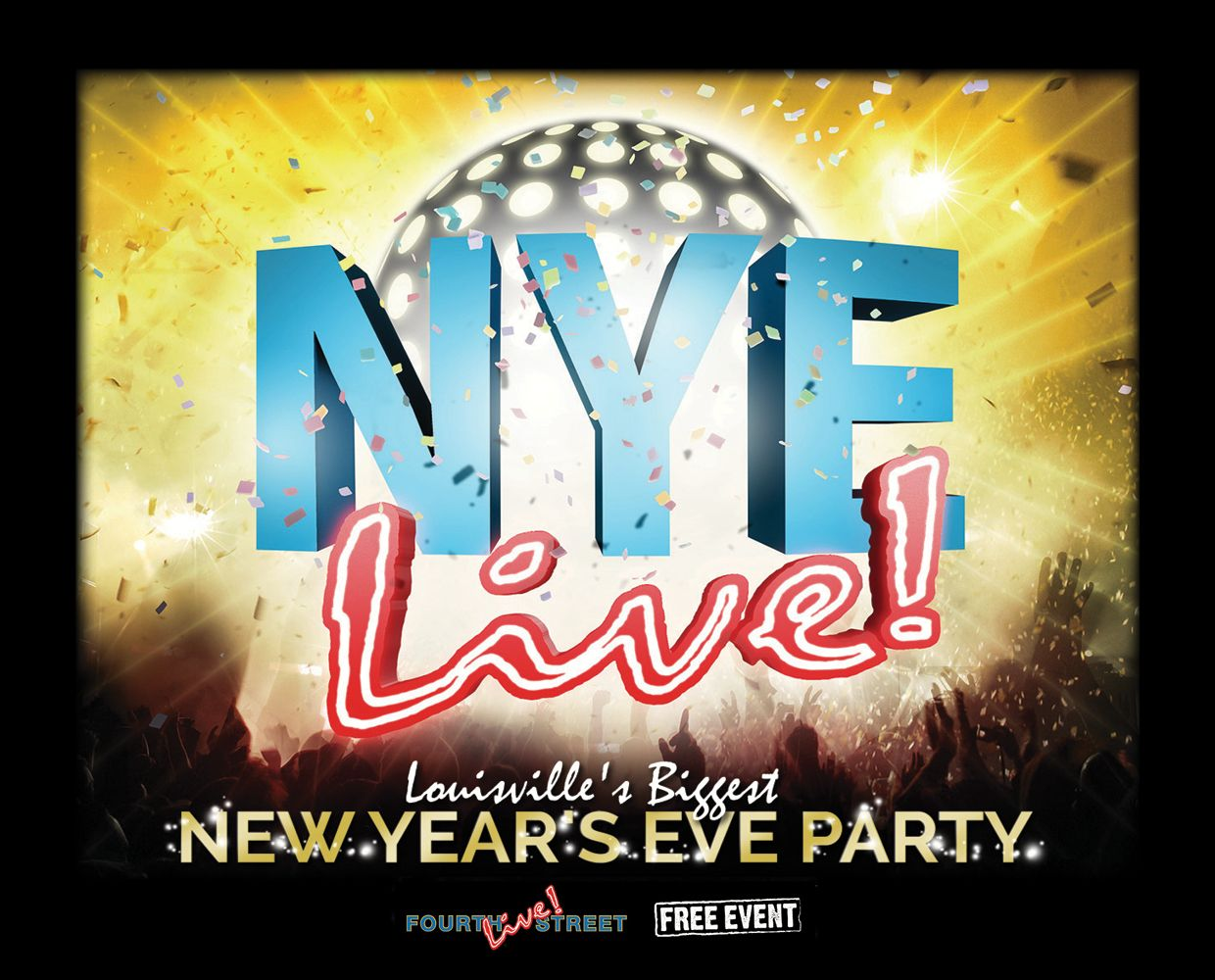 December 31 - New Year's Eve at Fourth Street Live! image