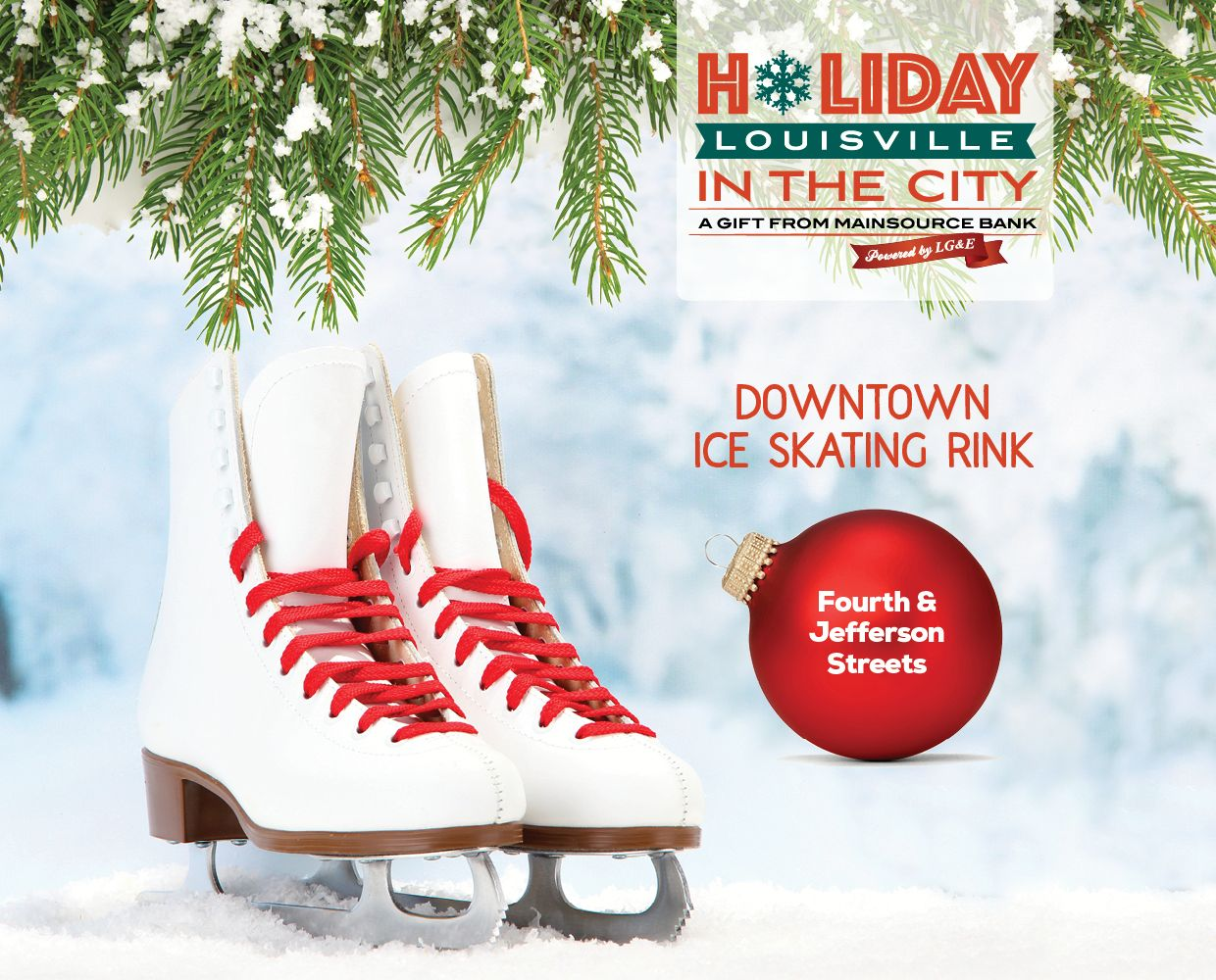 Through Jan 1 - Holiday in the City Ice Skating Rink image