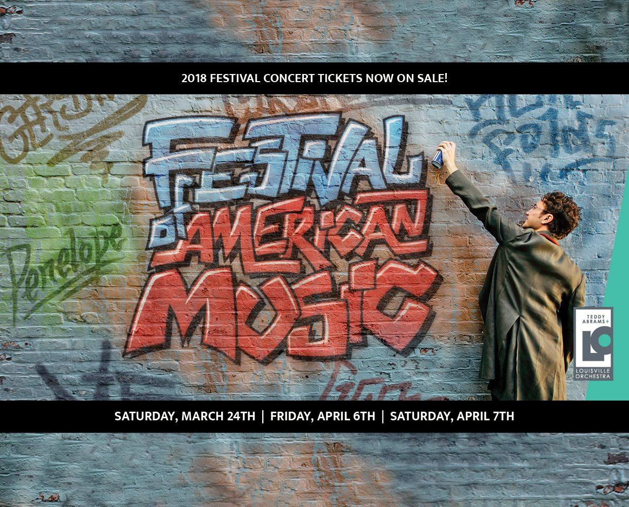March 24 - April 7 - Festival of American Music image