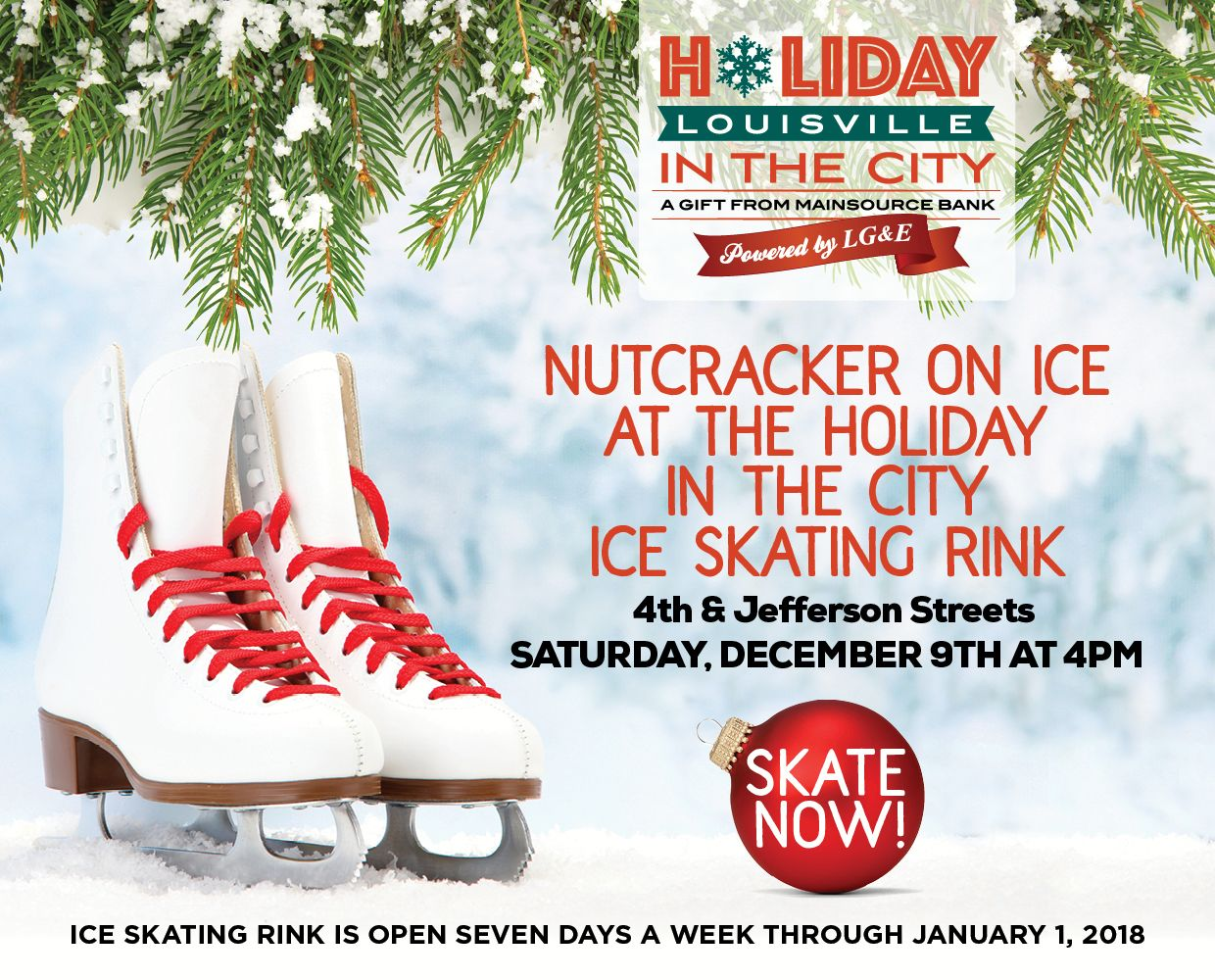 December 9th - Nutcracker on Ice at Holiday in the City image