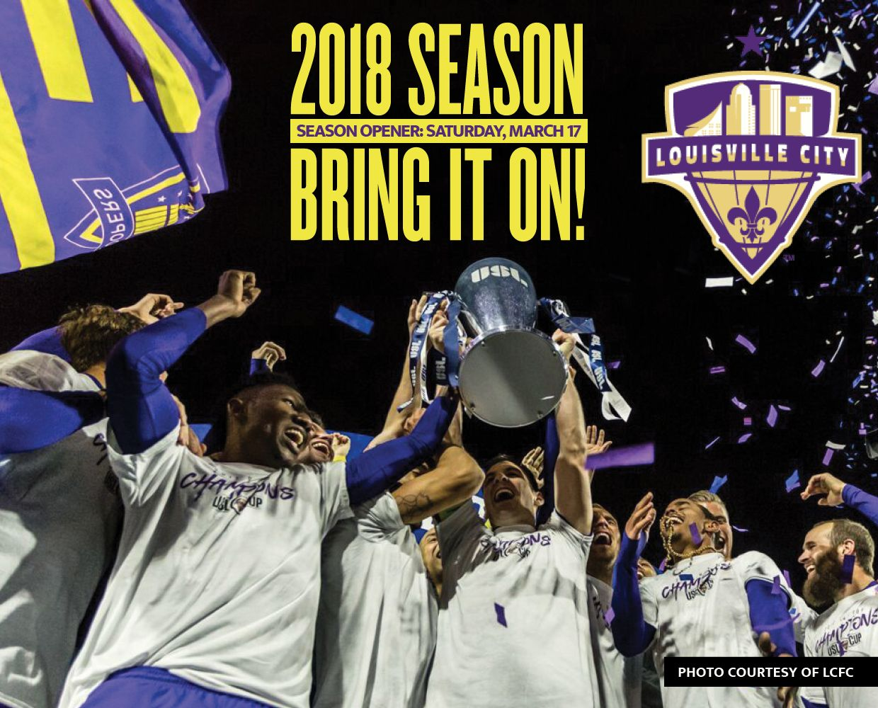 March 17 - LCFC Season Opener + 2018 Schedule image