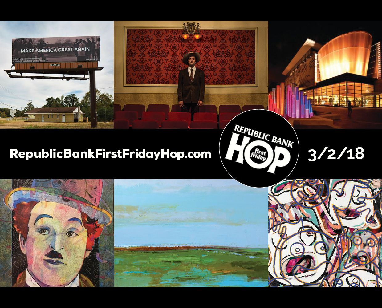 March 2 - Republic Bank First Friday Hop image