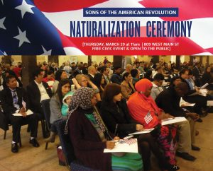 March 29 - SAR Naturalization Ceremony image