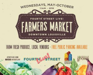 Begins May 9 - Farmer's Market at Fourth Street Live! image