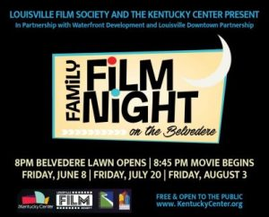 June, July & August - Family Film Night on the Belvedere image