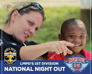 August 7: LMPD's 1st Division for National Night Out image