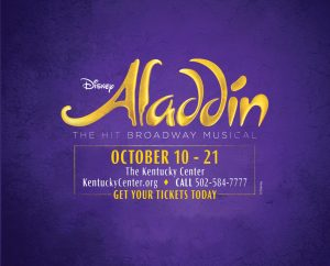 October 10: Aladdin The Broadway Musical image