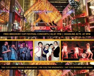 Nov. 1 - Nov. 3: Breeders' Cup Festival Free Concerts at Fourth Street Live! image