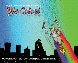 October 20-21: Via Colori Street Painting Festival image