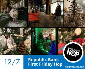 December 7: Republic Bank First Friday Hop image