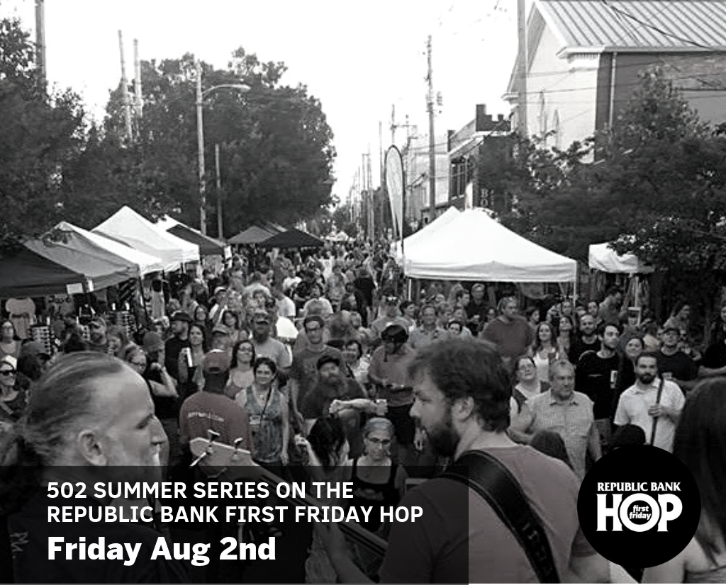 August Republic Bank First Friday Hop image