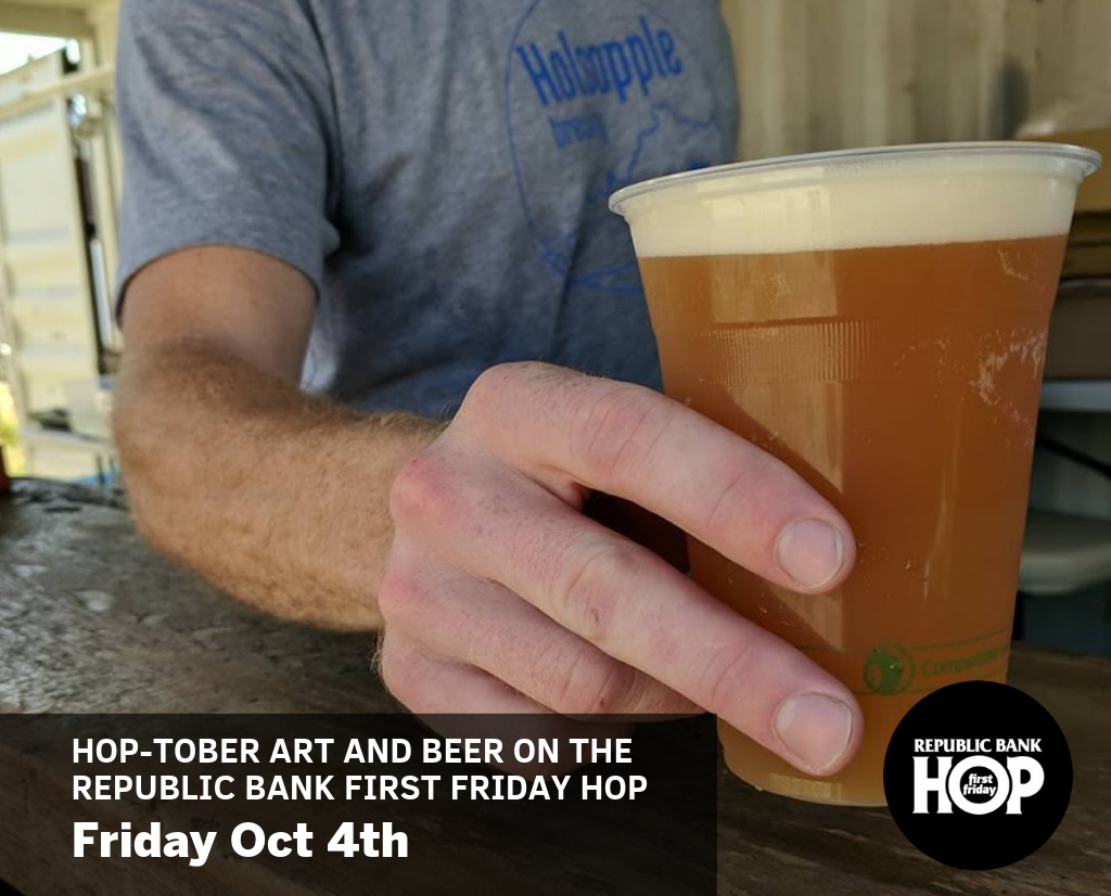 October Republic Bank First Friday Hop image