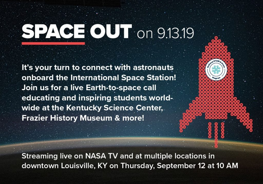 Space Out on 9/13 Call with NASA image