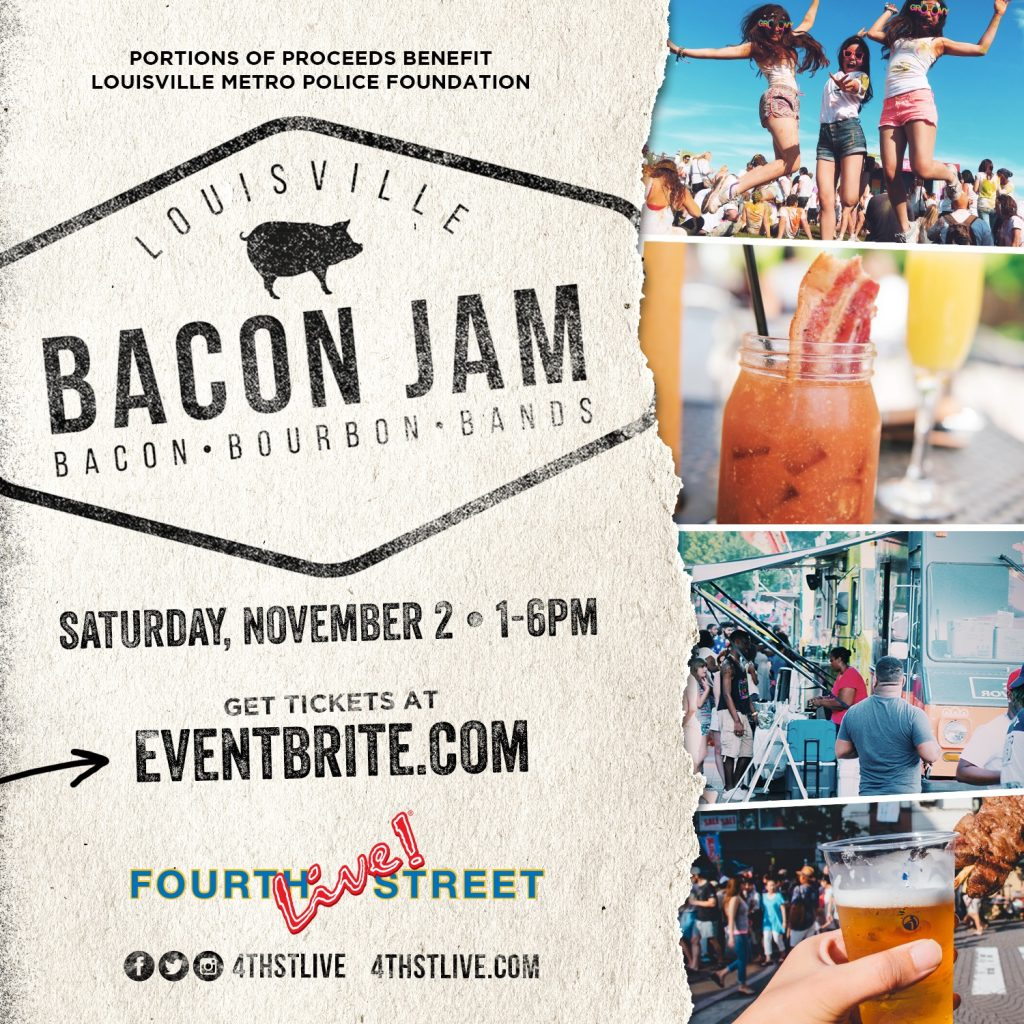 Bacon Jam, November 2 at Fourth Street Live!  image