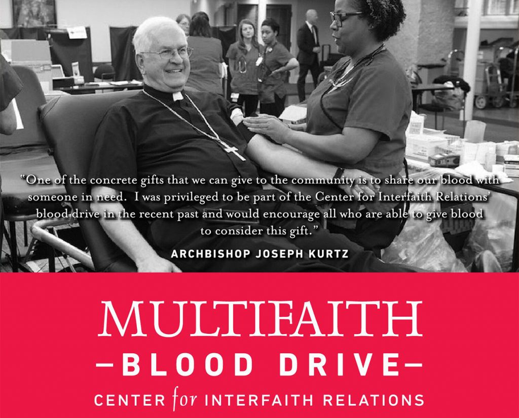 October 22 : Multifaith Blood Drive  image