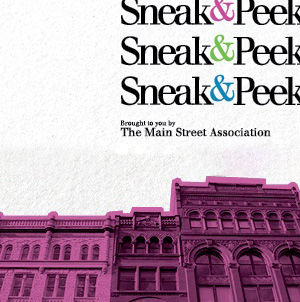 October 24: Sneak & Peek image