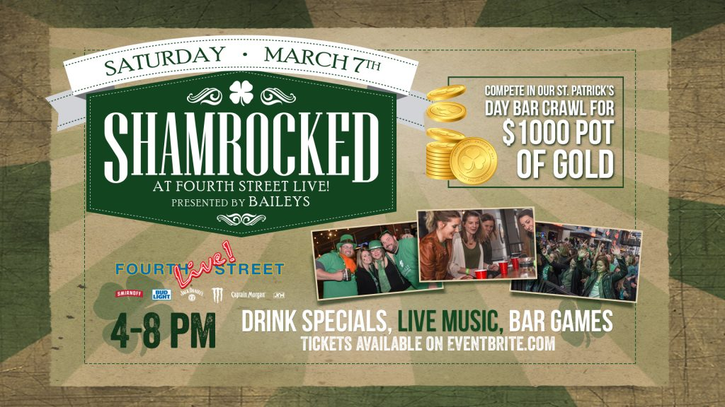 SHAMROCKED: St. Patrick's Bar Crawl image
