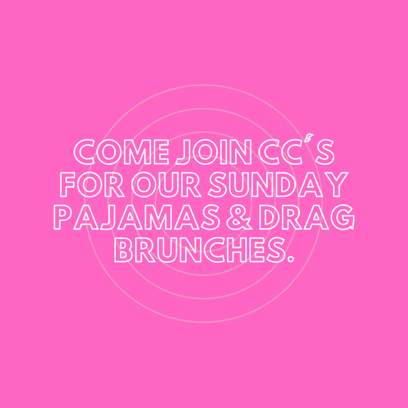 CC's for our Sunday Pajamas & Drag Brunch image