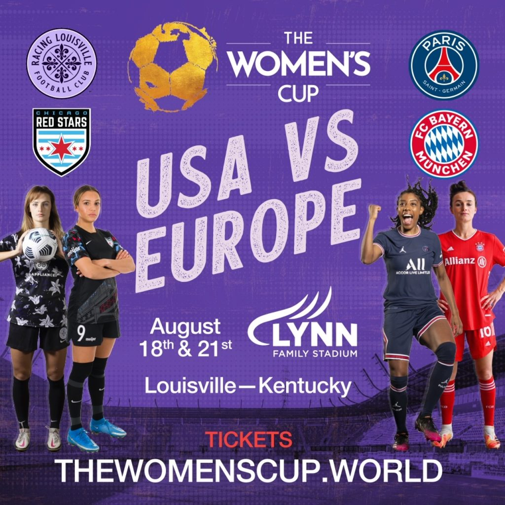 The Women's Cup (TWC), a four-team professional soccer event scheduled for August 18 and 21 at Lynn Family Stadium image