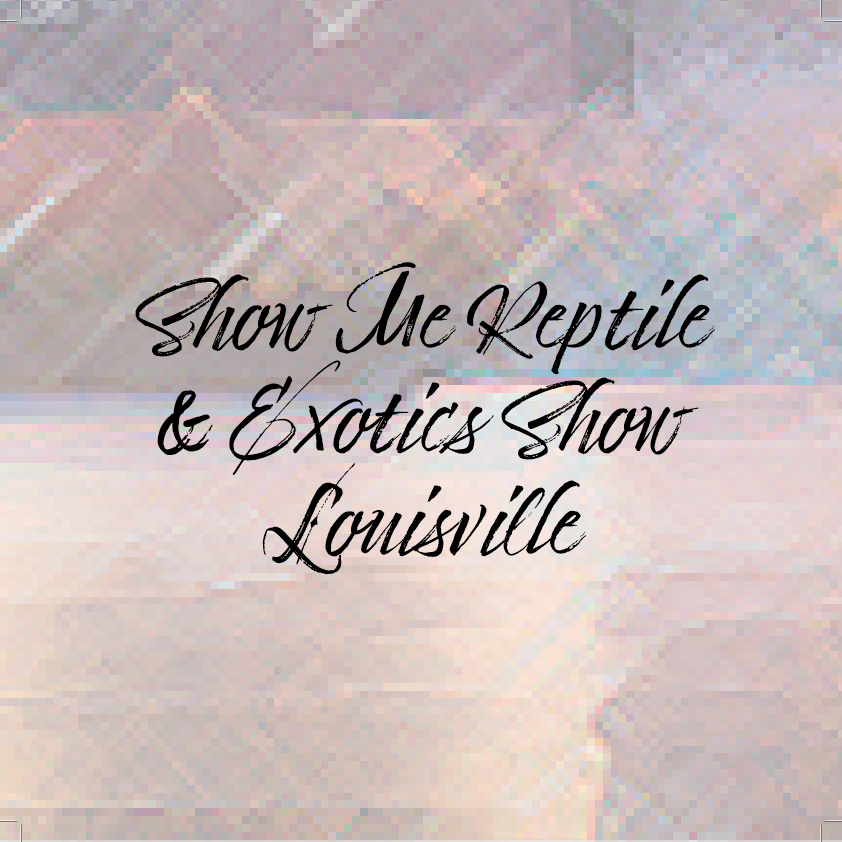 Show Me Reptile & Exotics Show Louisville at Kentucky International Convention Center on Sat 9/18