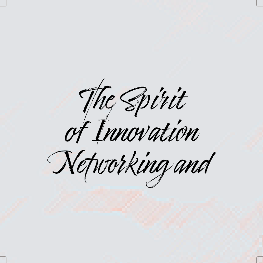 The Spirit of Innovation Networking and at Rabbit Hole Distillery on Thu 9/16